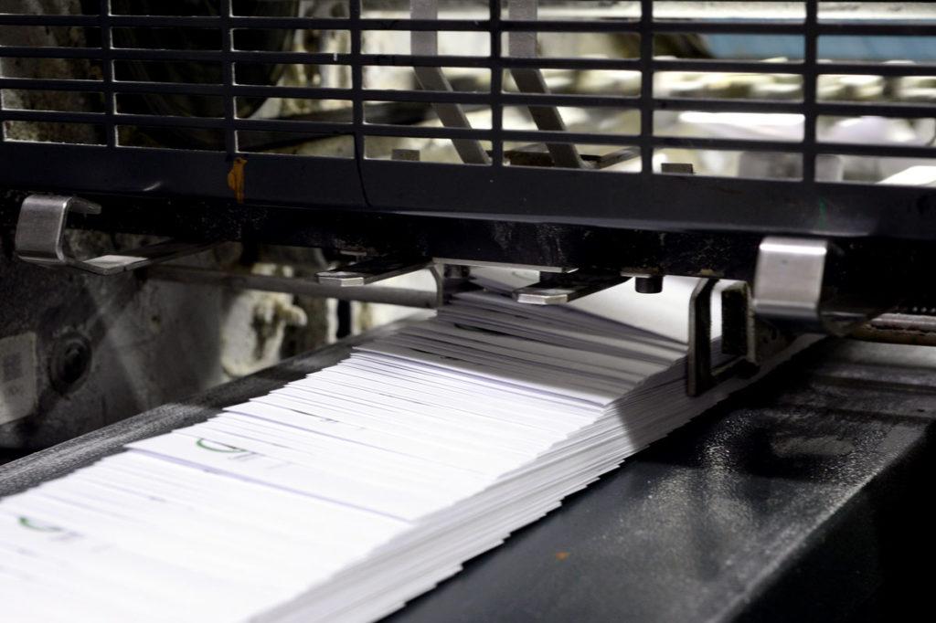Envelope Mailing Derby City Litho